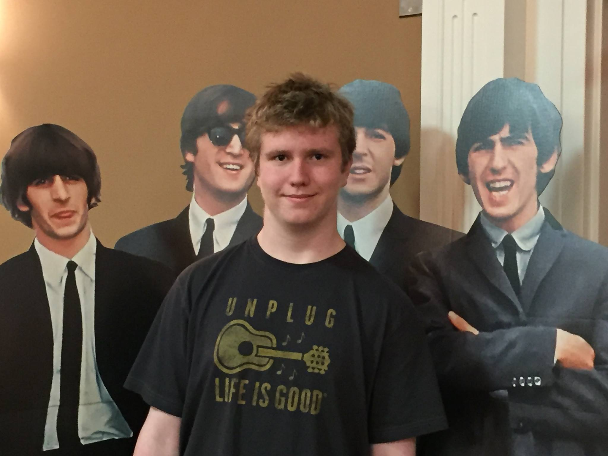 Hanging with the Fab Four at Harrifest