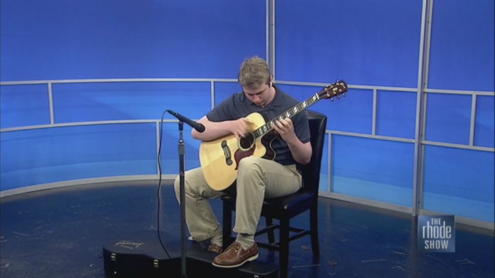 Thatcher Performs on the Rhode Show