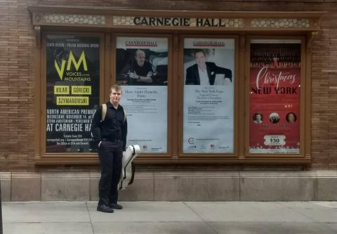 Thatcher at Carnegie Hall